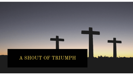 A Shout of Triumph Blog