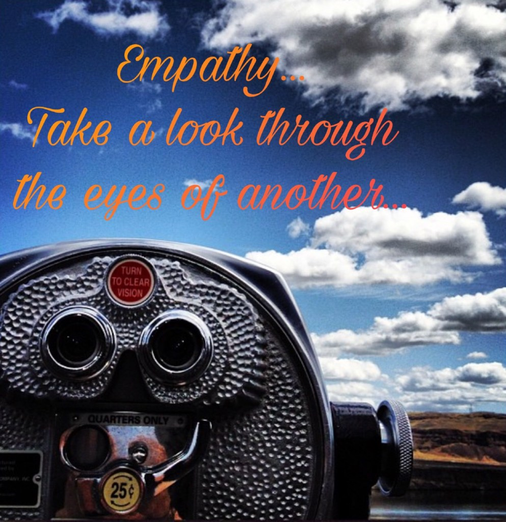 Empathy look through the eyes of another the messy badass Ashley Allyn