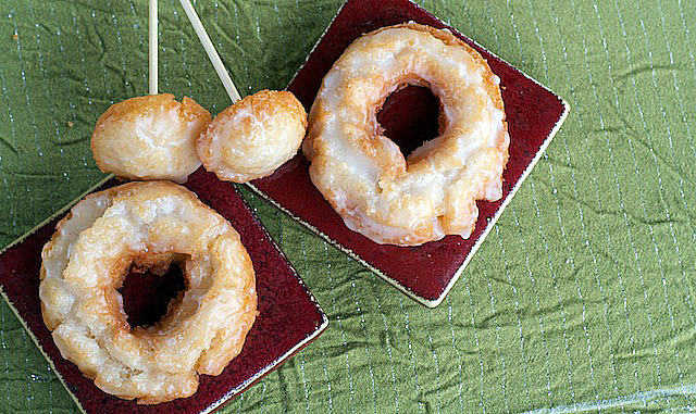 Sour Cream Old-Fashioned Doughnuts - TheMessyBaker.com