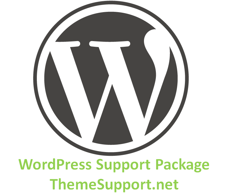 WordPress Support Package Logo