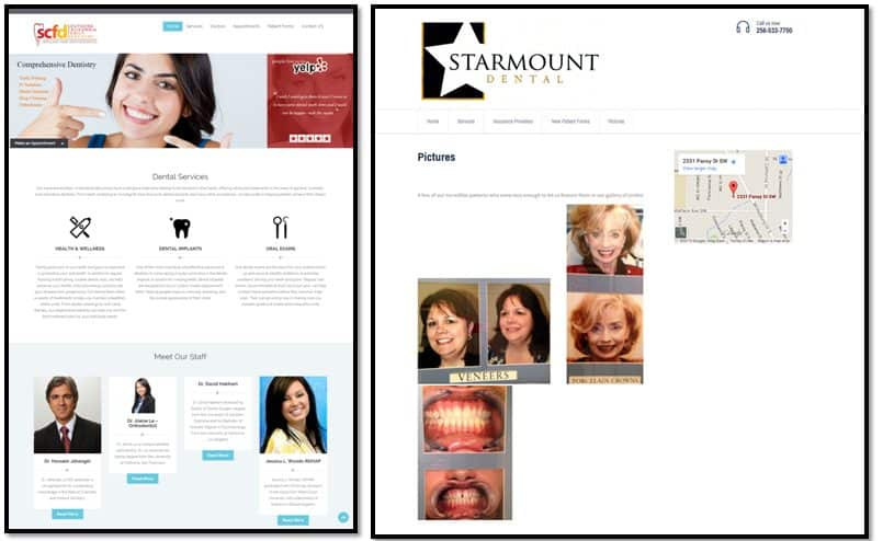 Dental Site Comparison2