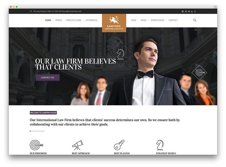 The Law Office website development experts