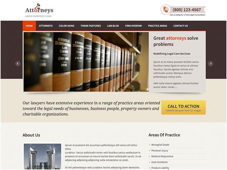 Attorneys website development
