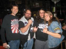 Kelz, Monkey Boy, dude and Jeff Black of Gatekeeper
