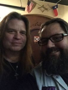 Craig Goldy and Monkey Boy