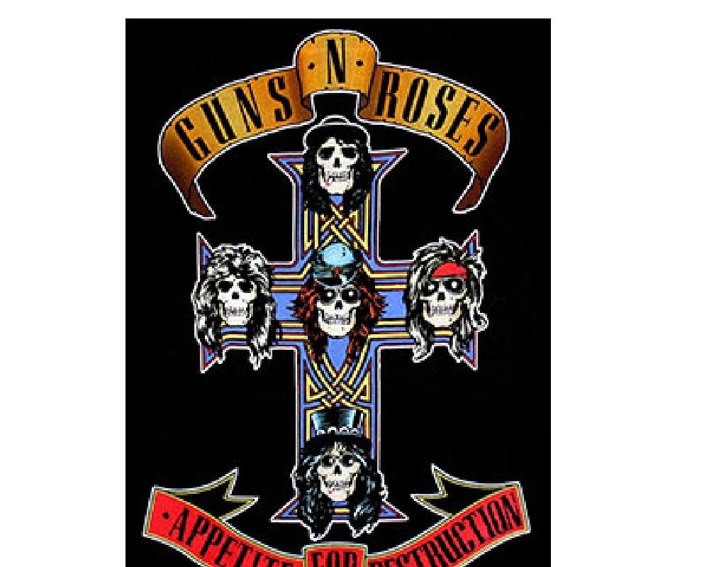 guns n roses poster