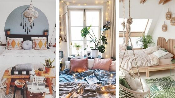 25 Cozy Bohemian Bedroom Ideas For Your First Apartment The Metamorphosis