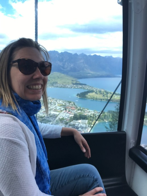 Cable car, Queenstown, New Zealand