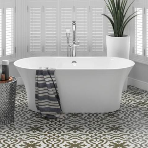 bathroom inspiration: ella freestanding bath tub