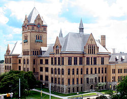 Old Main at Wayne State University