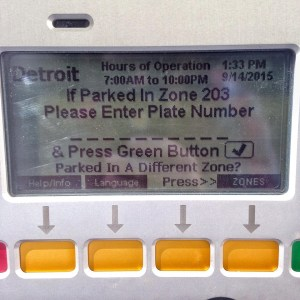 Park Detroit Kiosk