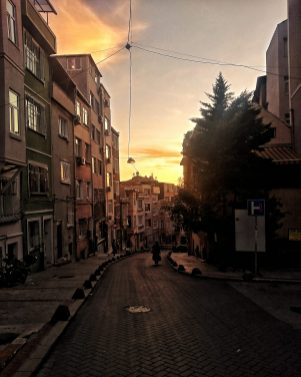 Beyoglu dusk