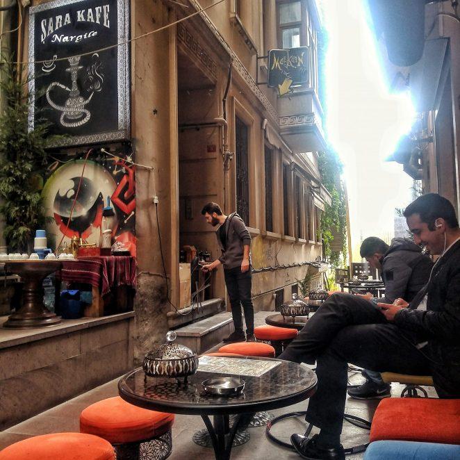 Sara Kafe, Beyoglu