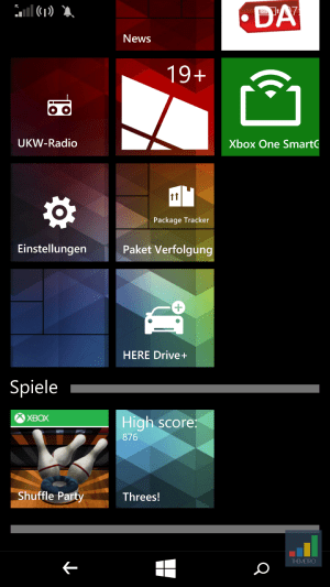 Windows Phone Ordner