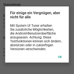 Android 6.0 Marshmallow Warnung