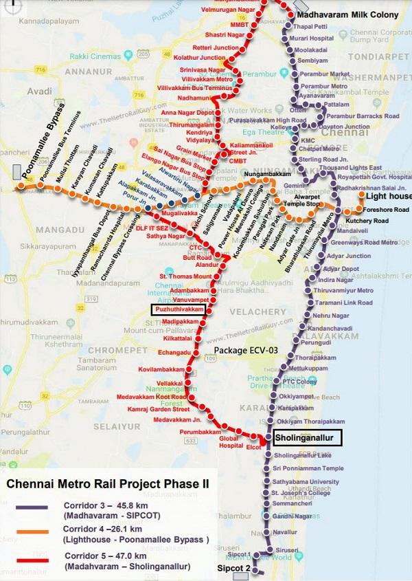 ChennaiMetroLine5ECV03 Kolkata Metro