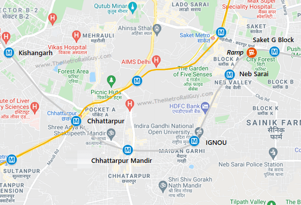 DelhiMetroSilverLineDC09Mapb Kolkata Metro
