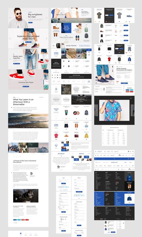 Aware E-commerce Free UI Kit
