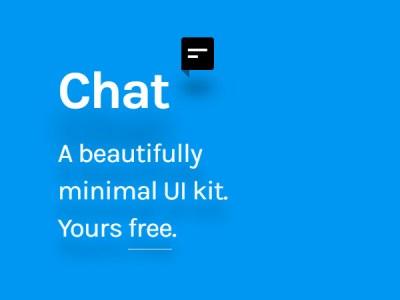 Free UI Kit - Chat UI Kit