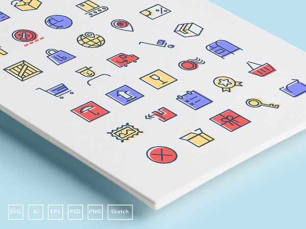 35 Checkout & Delivery Free Icons