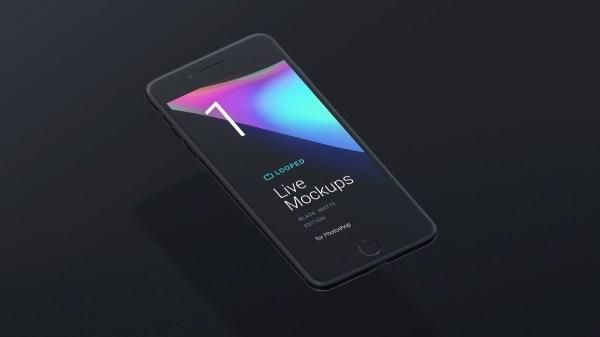 Block Matte Mockup - iPhone