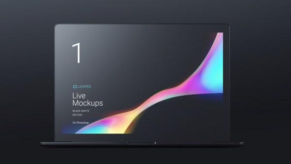 Black Matte Apple Devices - Macbook