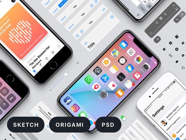 Facebook iOS 11 iPhone Free UI Kit | Theme-UI