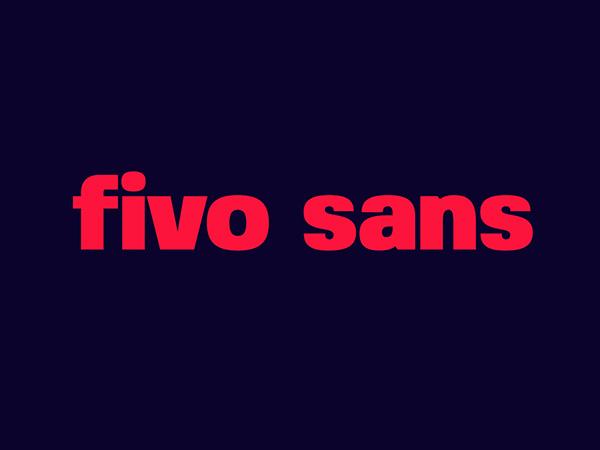 Fivo Sans Free Font