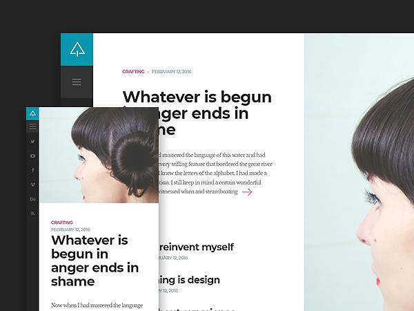 Suppablog - Free Blog Website Template