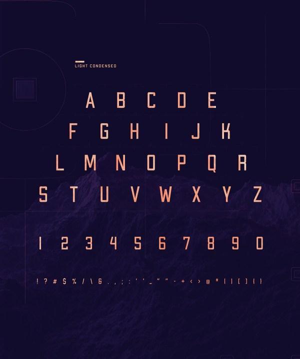 Apex MK2 - Free Geometric Sans-serif Display Font - 03