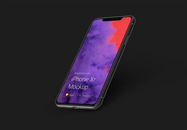 Free iPhone Xr Mockups 01