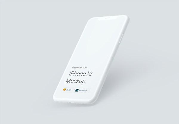 Free iPhone Xr Mockups 02