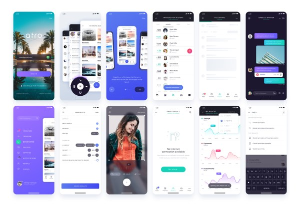 Atro Free UI Kit - 03
