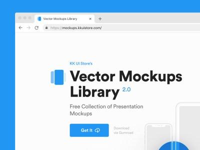 Vector Mockups Library