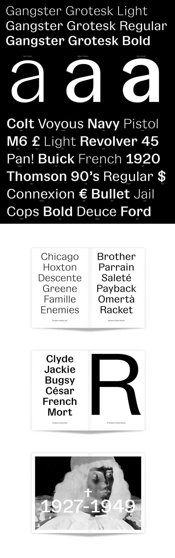 Gangster Grotesk Free Font