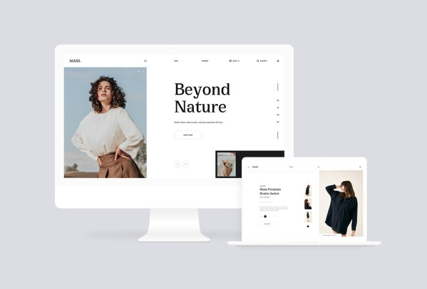 Mi Fashion - Free Website Template For Fashion Stores 01
