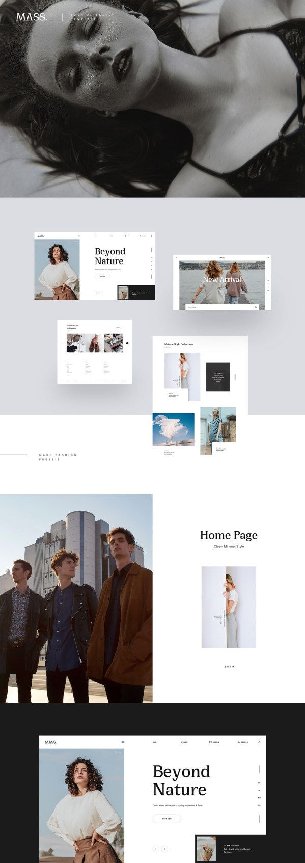 Mi Fashion - Free Website Template For Fashion Stores 02