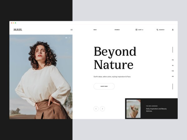 Mi Fashion - Free Website Template For Fashion Stores