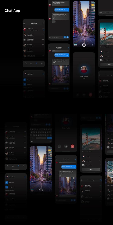 Chat App Free UI Kit