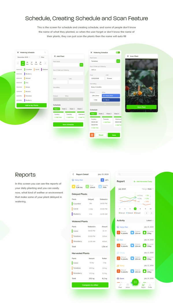 Waplant Mobile Apps Free UI kit 03