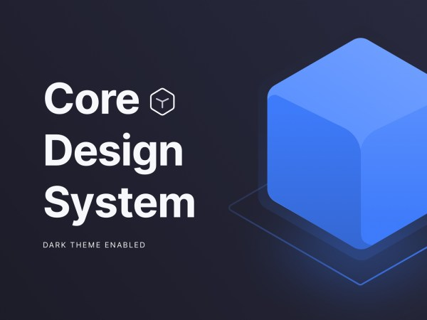 Core Design System - Free Sketch File 01