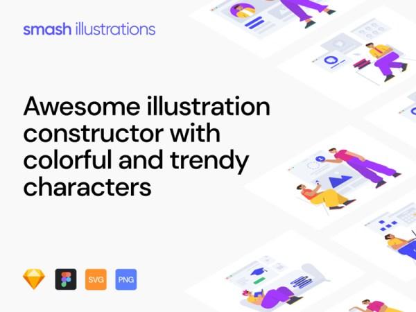 Smash Illustrations