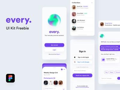 every. Free UI Kit