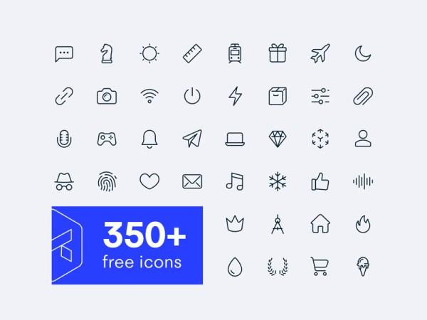 350+ Free Icons