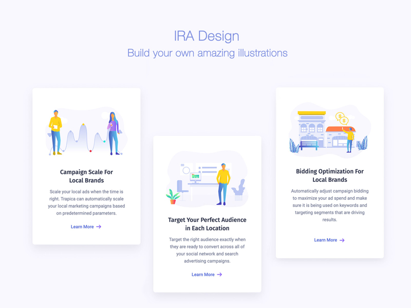 IRA Design - Build Your Own Amazing Free Illustrations