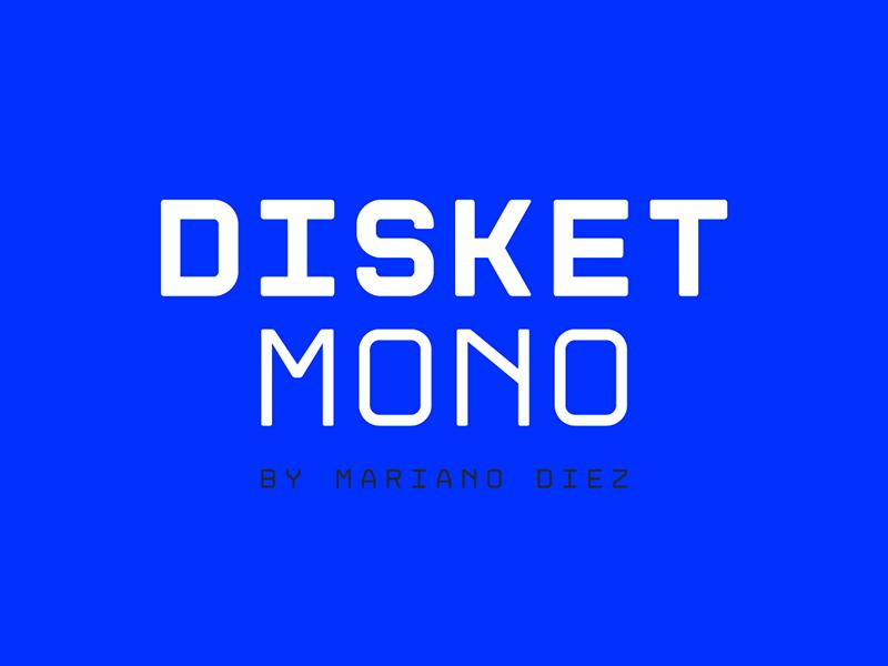 Disket Mono Free Typeface