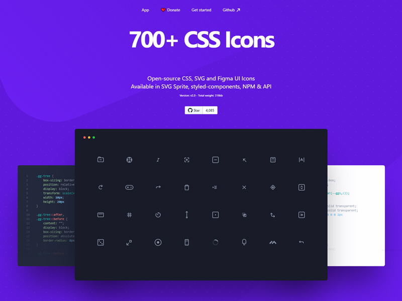 CSS GG — Open-Source CSS Icons