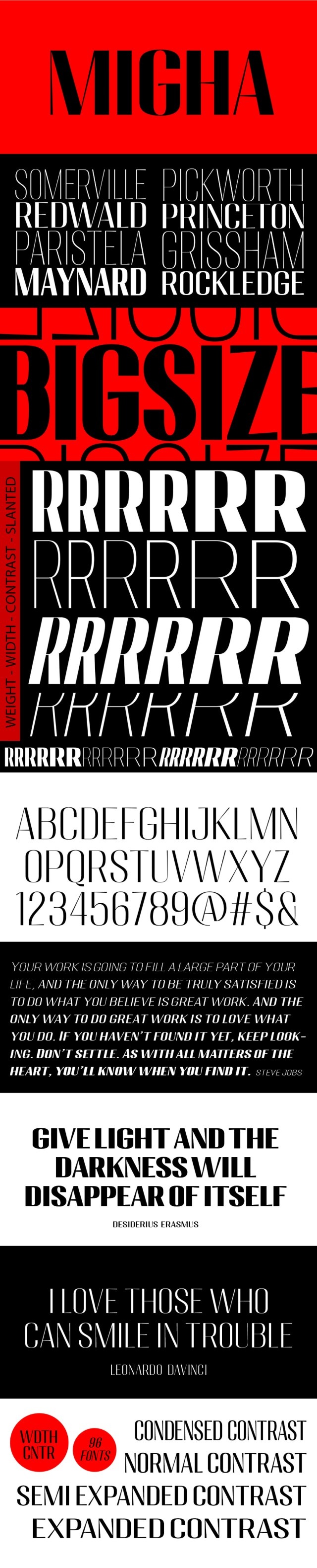 Migha - Free Variable Font