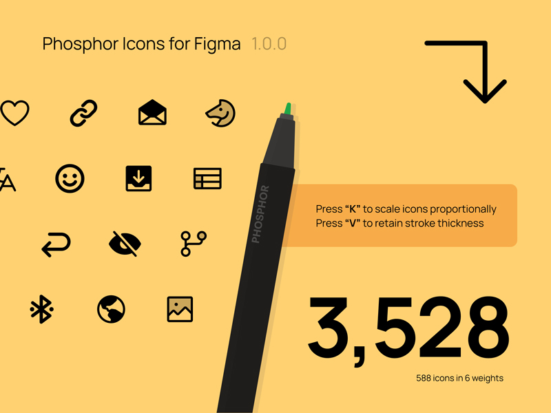 Phosphor Free and Open-Source Icons