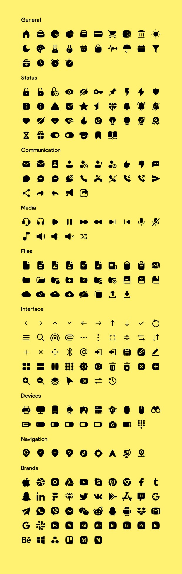Basil Free Icons - Solid